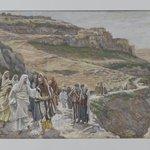 Jesus Discourses with His Disciples (Jésus sentretient avec ses disciples)