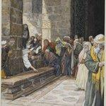The Adulterous Woman--Christ Writing upon the Ground (La femme adultère--Christ écrit par terre)