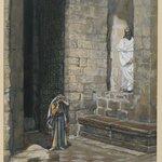 The Adulterous Woman Alone with Jesus (La femme adultère seule avec Jésus)