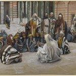 Jesus Speaks Near the Treasury (Jésus parle près du trésor)