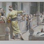 The Healed Blind Man Tells His Story to the Jews (Laveugle-né guéri sexplique avec les Juifs)