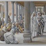 Jesus Walks in the Portico of Solomon (Jésus se promène dans le portique de Salomon)