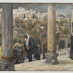 The Gentiles Ask to See Jesus (Les gentils demandent à voir Jésus)