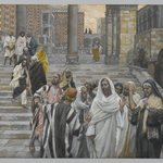 The Disciples Admire the Buildings of the Temple (Les disciples admirent les constructions du Temple)