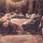 The Last Supper: Judas Dipping his Hand in the Dish (La Céne. Judas met la main dans le plat)