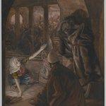 The Third Denial of Peter. Jesus Look of Reproach (Le troisième reniement de Saint Pierre.  Le regard de reproche de Jésus).