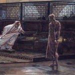 Jesus Before Pilate, First Interview (Jésus devant Pilate. Premier entretien).