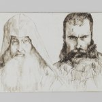 Types of Armenian Men in Jerusalem