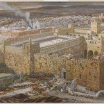 Reconstruction of Jerusalem and the Temple of Herod (Réconstitution de Jérusalem et du temple dHérode)