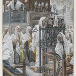 Jesus Unrolls the Book in the Synagogue (Jésus dans la synagogue déroule le livre)