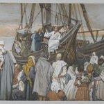 Jesus Preaches in a Ship (Jésus prèche dans une barque)