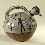 Effigy Vessel with Spout in the Shape of a Ducks Head
