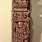 Carved Pilaster from Our Lady of Guadalupe