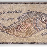 Mosaic of Fish Facing Right