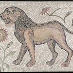 Mosaic of Lion