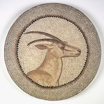 Mosaic of a Gazelle in a Medallion