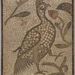 Mosaic of a Bird in a Vine