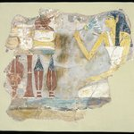 Tomb Painting of a Woman with Offerings