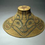 Hat with Tcamaos design