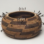 Coiled Ceremonial Basket Bowl