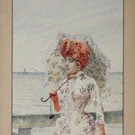 Woman at Seaside Resort