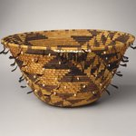 Girls Coiled Dowry or Puberty Basket (kol-chu or ti-ri-bu-ku)