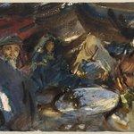 Arab Gypsies in a Tent