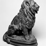 Seated Lion, No. 1 (Lion Assis No 1)