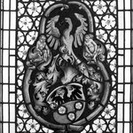 Window depicting Armorial Insignia