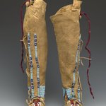 Childs Pair of Beaded Moccasins