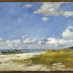 The Beach at Trouville (Trouville, La Plage)