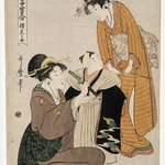 Picture of First Pant Fitting, from the series Collection of Precious Children of Shichigosan Festival