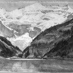 Victoria Glacier, Lake Louise