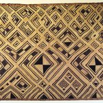 Raffia Cloth Panel Marked K313