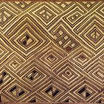 Raffia Cloth Panel Marked D56