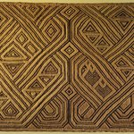 Raffia Cloth Panel Marked D21