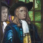 "Presentation Window, ""William Penn, Peace Movement, Pennsylvania"""