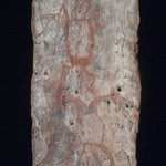 Bark Painting of Dream Figures
