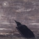 Moon Mad Crow in the Surf