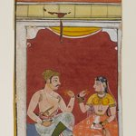 Page from a Ragamala Series