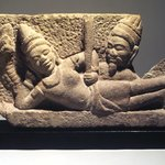 Vishnu Reclining on Sesha