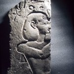 Sunk Relief of a King