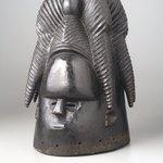 Sande society mask (zogbe)