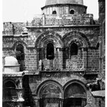 Entrance, Church of the Holy Sepulchre, Jerusalem