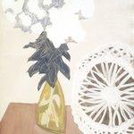 White Blossoms, White Wheel
