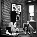 Welcome Home: Spring 1946, Red Hook District, Brooklyn, N.Y.