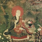 Arhat Vajriputra or Vanavasin (One of Nine Tibetan Ritual Paintings of Arhats)