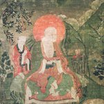 Arhat Gopaka (One of Nine Tibetan Ritual Paintings of Arhats)