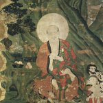 Arhat Pantaka (One of Nine Ritual Paintings of Arhats)
