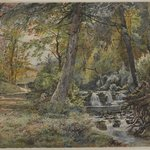 Landscape with Stream and Road, Chester County